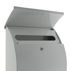 Burg-Wachter Riviera 835 W Post Box in White