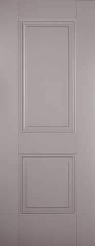LPD Internal Grey Arnhem 2 Panel Primed Fire Door