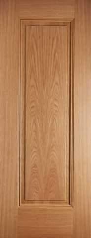 LPD Internal Prefinished Oak Eindhoven 1 Panel Fire Door
