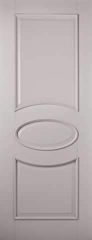 LPD Internal Grey Versailles Primed Fire Door