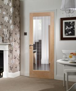 XL Joinery Suffolk 1 Light With Clear Etched Glass Door