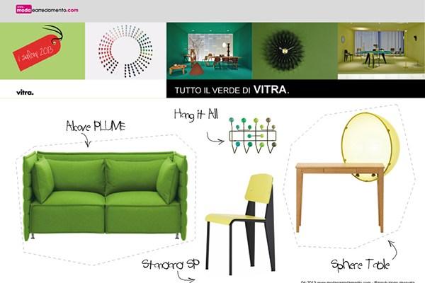 Arredi-colore-verde-di-Vitra