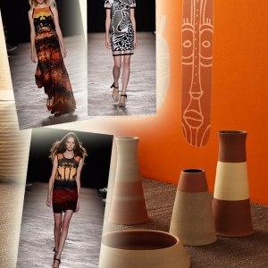 ispirazione Africa moda arredamento