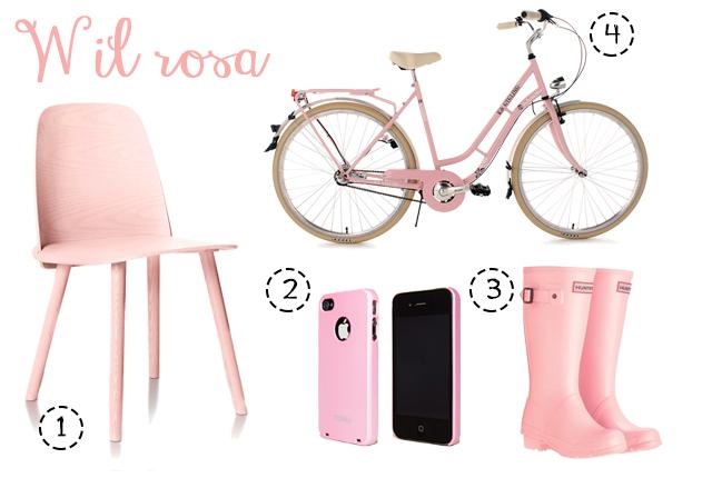 Tra moda e arredamento rosa