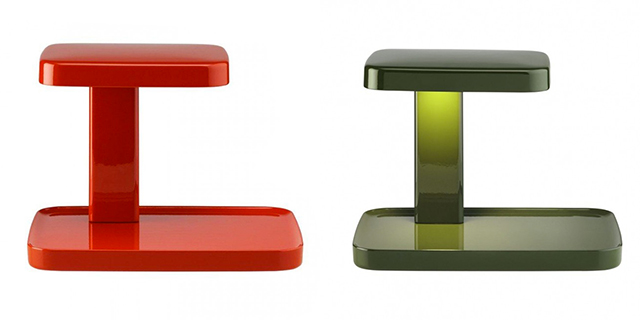 Flos piani rosso e verde, immagine lampada.