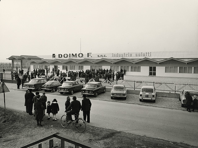 doimo salotti innagurazione 1968
