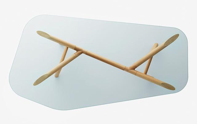 Miniforms piano del tavolo Otto.