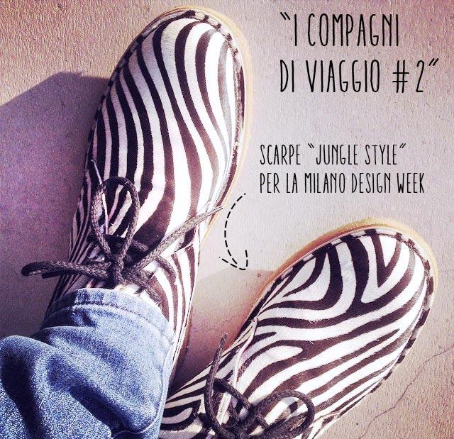 scarpe zedra per la milano design week
