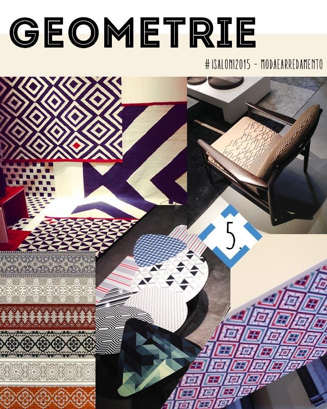colori e materiali 2015 : geometrie.