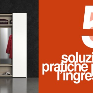 Soluzioni ingresso Zanette collezione New Pratico
