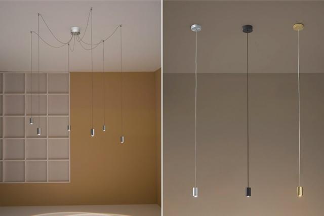 Vesoi Luce a soffitto decentrata idealed