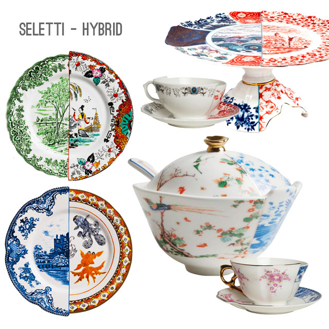 Seletti table setting Hybrid.