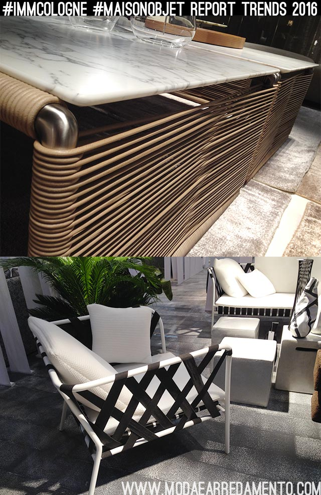 Tendenze outdoor-indoor arredo 2016.