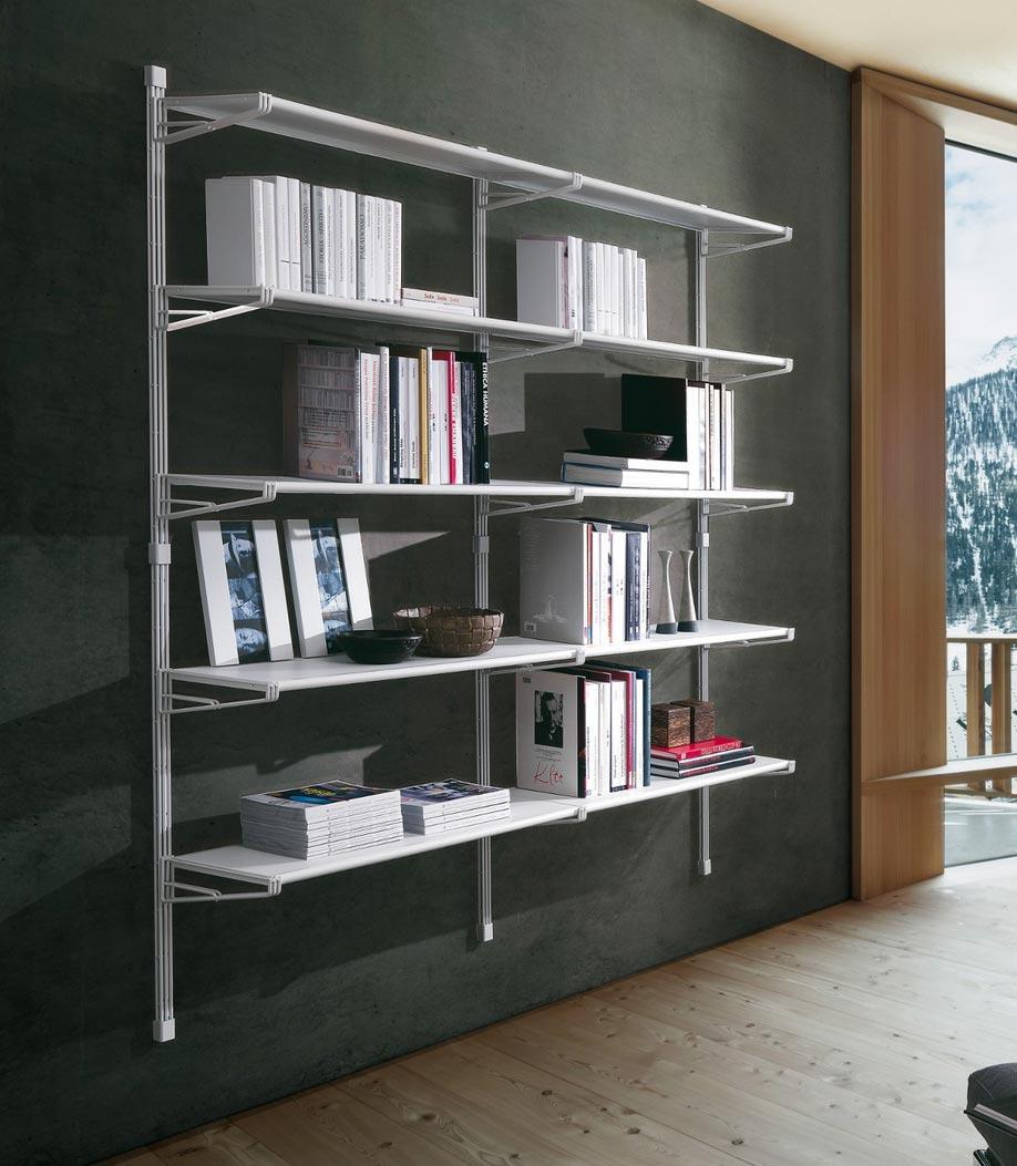 libreria a muro sospesa mensola a muro in ferro di metallo parete. Librerie Da Appendere A Parete Idee E Soluzioni Efficaci
