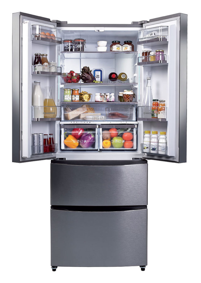 Hoover-Dynamic-HMN7182-IX-(2) frigorifero freestanding.