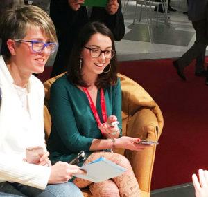 Violetta Breda - Cristiana Rosada design blogger intervistano Karim Rashid e Favaretto.
