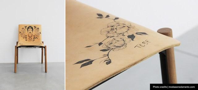 Kristalia Sedia 1085 Bartoli Design - special edition Tottoo