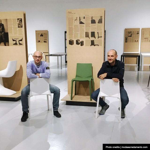 Luca Pevere e Paolo Lucidi - architetti di Palmanova che collaborano con Kristalia.
