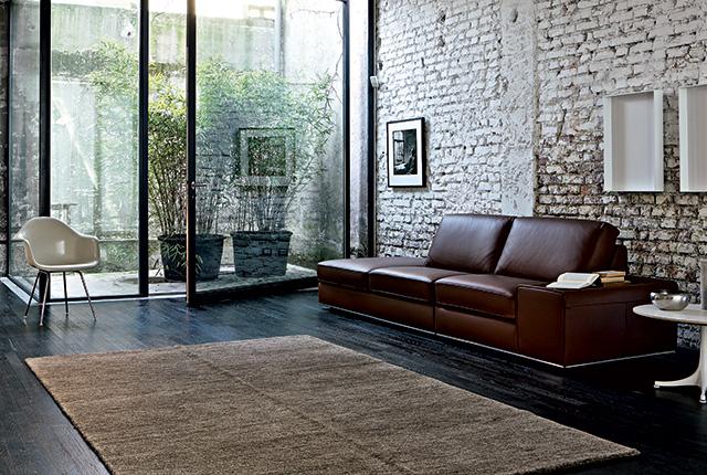 Scegliere la dimensione del tappeto salotto camera e for Sala da pranzo con divano
