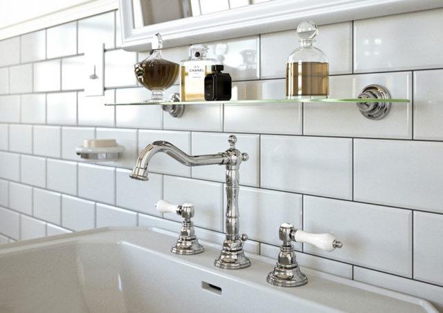 Come scegliere le piastrelle diamantate in bagno e cucina