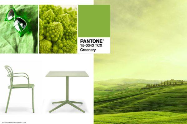Pantone Greenery colore dell'anno 2017 - Ispirazioni per la nascita di una nuova tendenza colore.