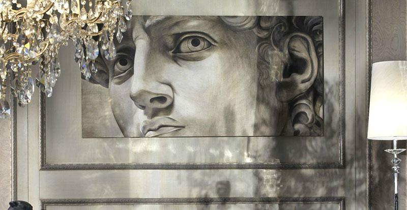 Dipinti Murali E Pittura Ad Ago : Tra antico e moderno laffresco in casa per il rivestimento murale.