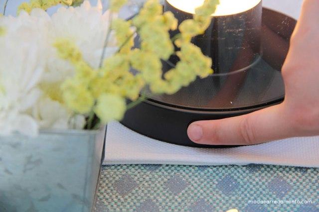 Philips Luce da giardino per esterno Abelia tasto accensione e spegnimento.