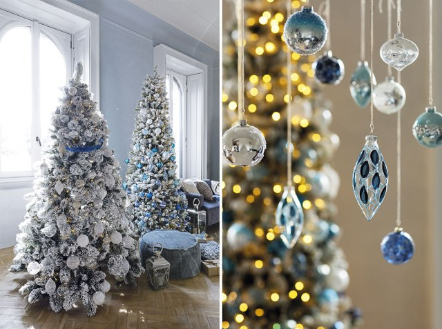 Atmosfere di Natale in casa: gli alberi di Natale di Coin casa - blu
