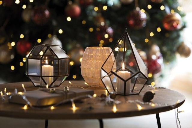 Atmosfere di Natale in casa: le candele.