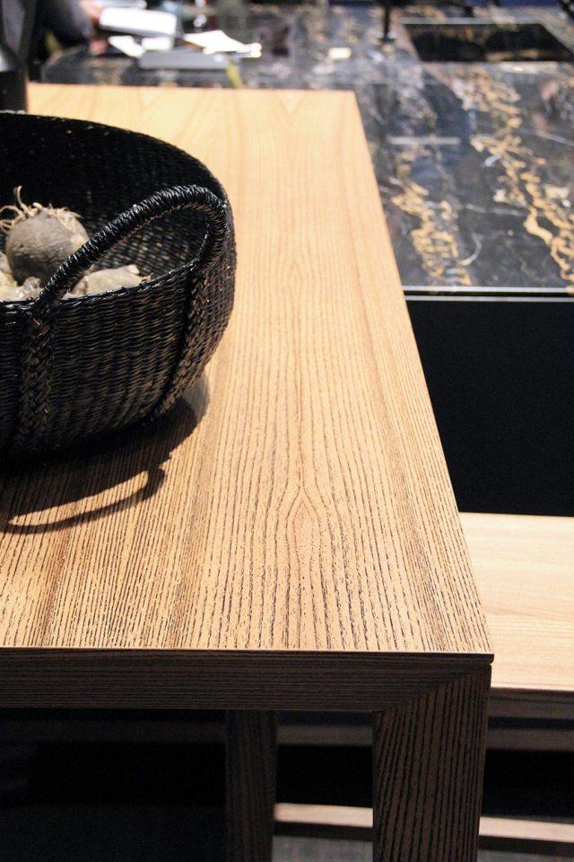 Euromobil cucine - Cucina Sei di Marc Sadler dettaglio materiali.