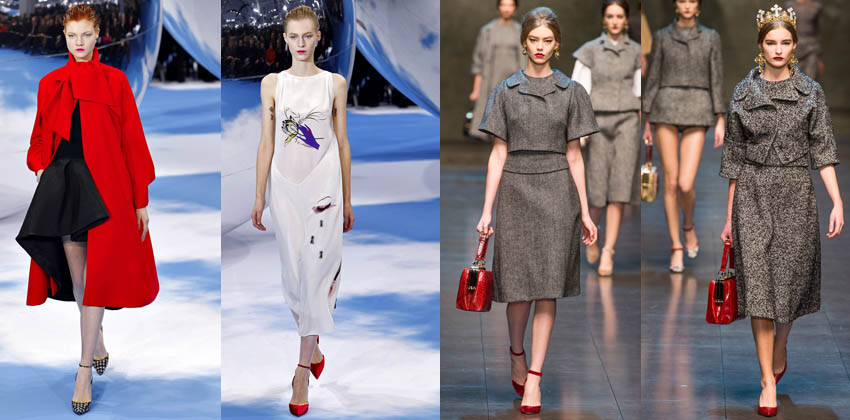 Dior, Dolce & Gabanna