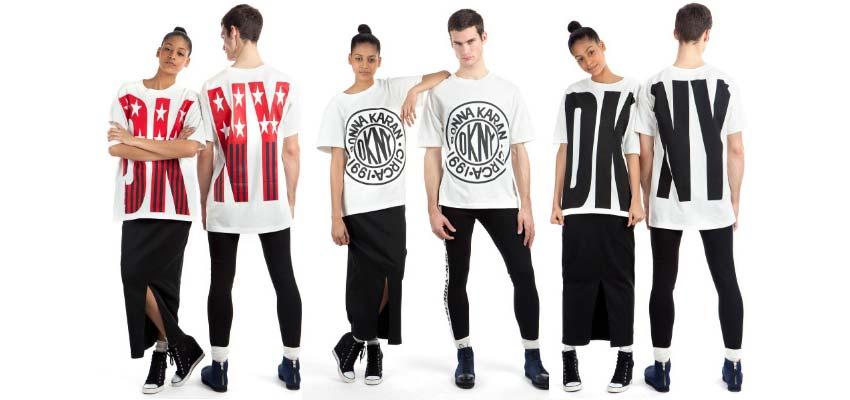 Logo mania DKNY