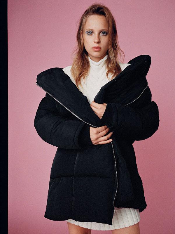 Para estrenar 697b8 42493 Los abrigos warm and puffy de Zara Trafaluc ⋆ Moda en Calle