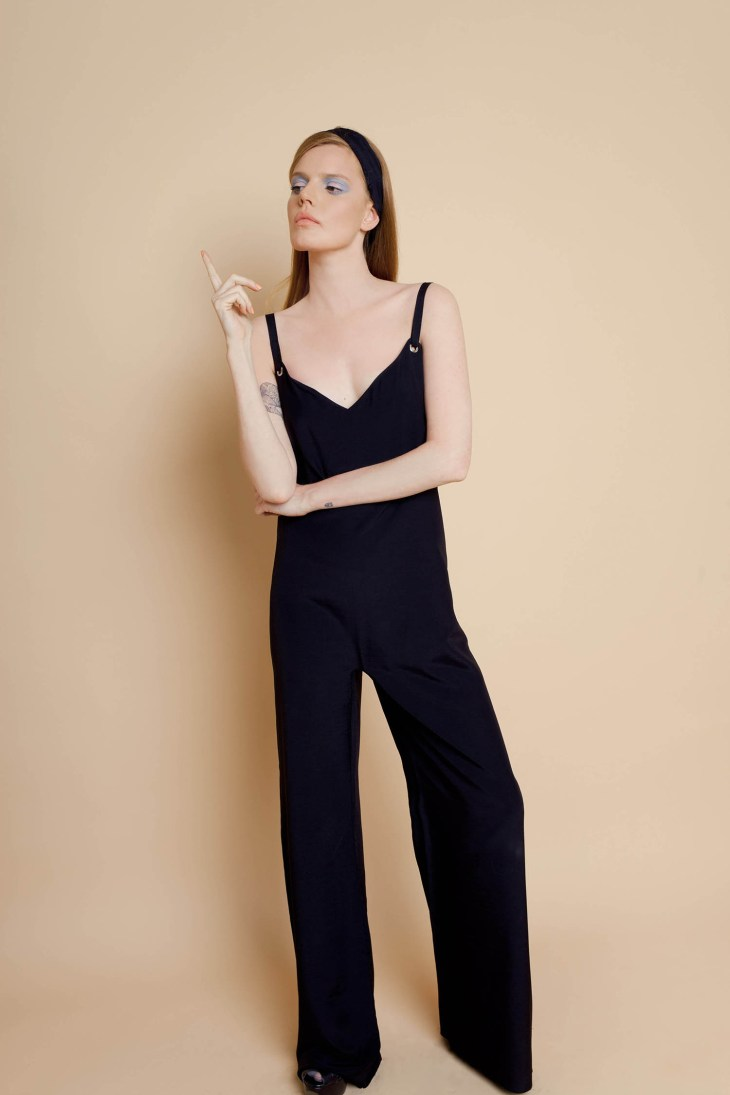 Black Jumpsuit by Studio V on www.modagrid.com