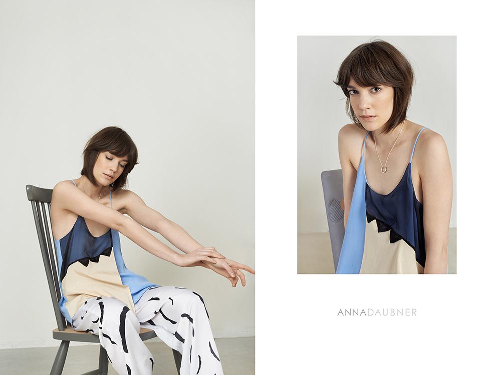 Anna Daubner SS16 on www.modagrid.com