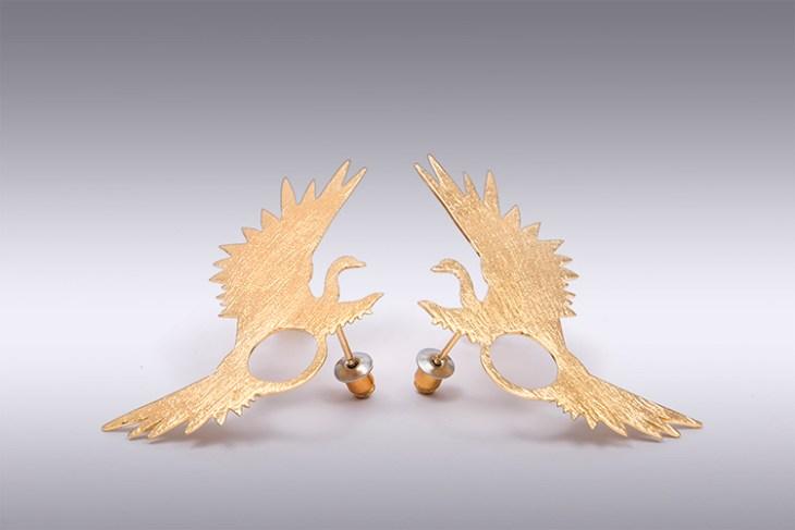 Meridaa earrings by LA FIANCÉE DU FACTEUR on www.modagrid.com