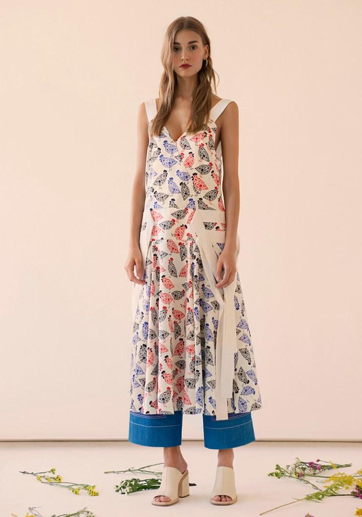 Silk Printed dress by FLOW the LABEL on www.modagrid.com