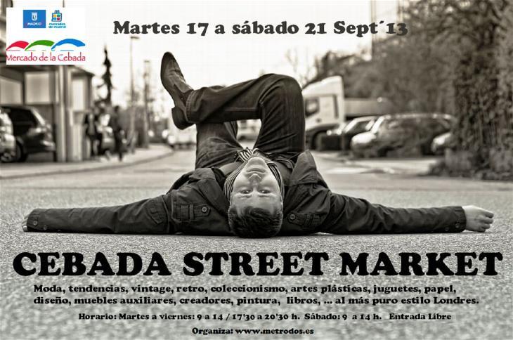 cebada street market madrid