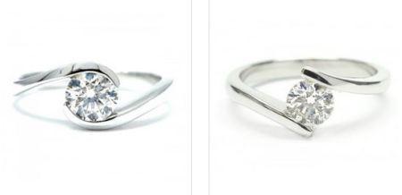 anillos diamantes
