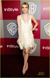 2011 InStyle/Warner Brothers Golden Globes Party - Arrivals