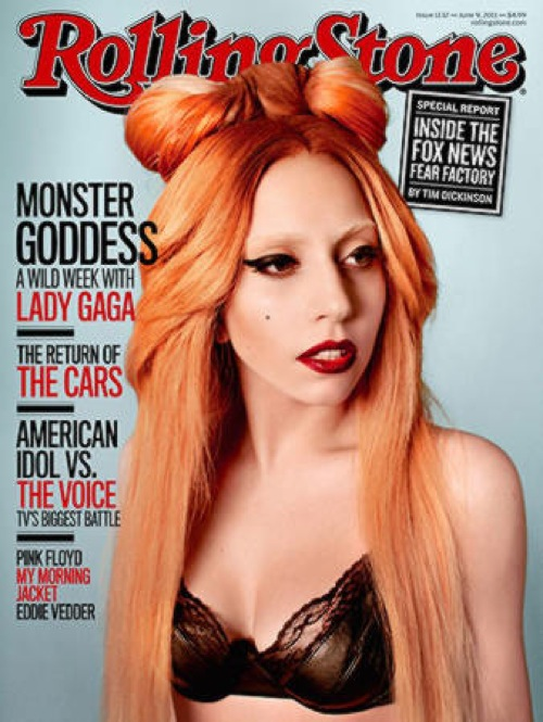 Lady GAGA Cover Rolling Stones