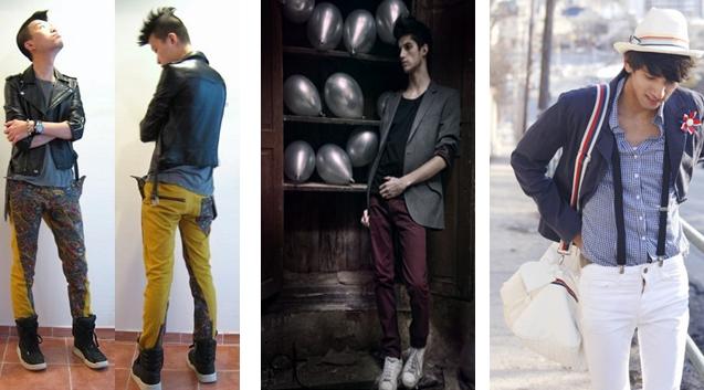 calça skinny como usar super justa masculian homem onde encontrar