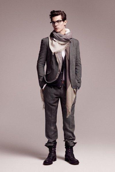 h&m coleção masculina outono inverno 2010 2011