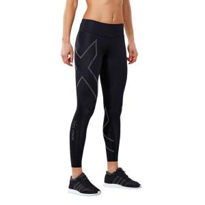 2XU MCS Run Womens Compression Tights – Black/Nero Reflective