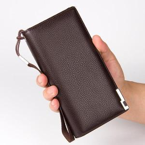 11 Card Slots Clutch Bag Pu Leather Business Wallet