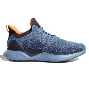 Adidas AlphaBounce Beyond – Mens Running Shoes – Grey/Orange/Ink
