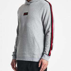 Delivery Pouch Hoodie Grey Marle