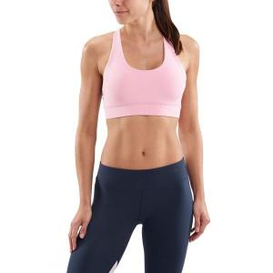 Skins DNAmic Soft Womens Sports Bra – Cameo Pink