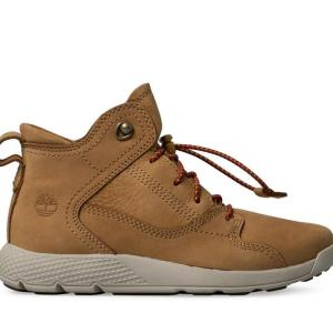 Kid's Flyroam Leather Hiker Boots