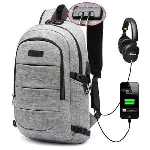 17 Inch Anti-theft Backpack For Men
